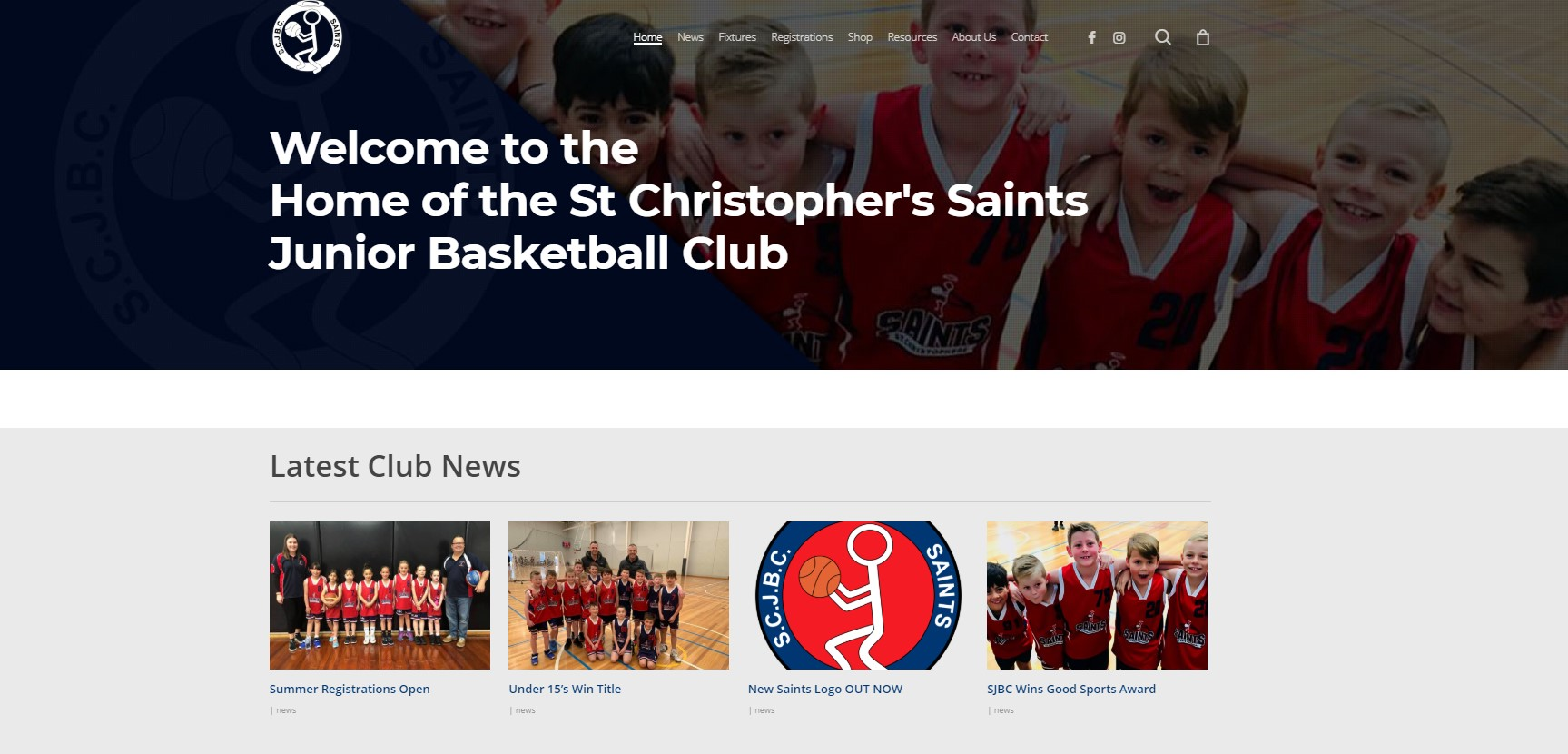 New Saints Website Now Live…