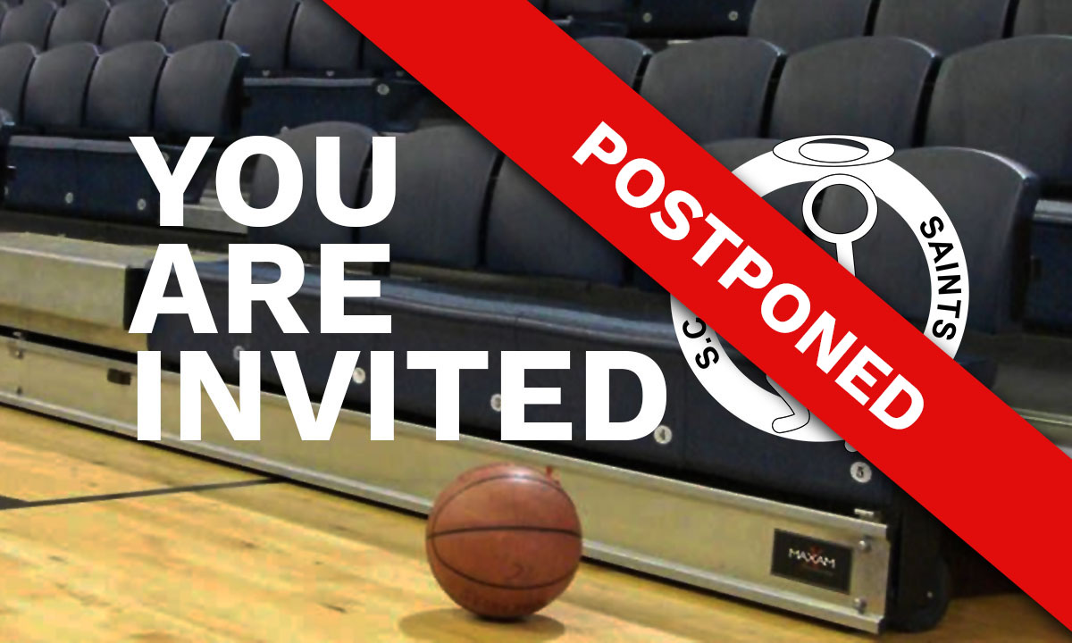 The event you have been invited to has been postponed
