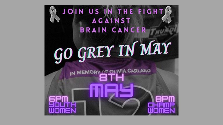 Go Grey in May